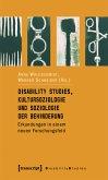 Disability Studies, Kultursoziologie und Soziologie der Behinderung (eBook, PDF)