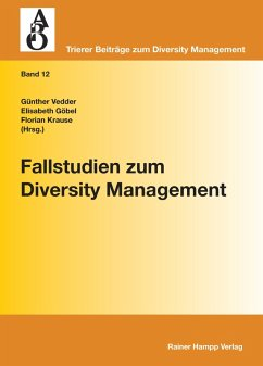 Fallstudien zum Diversity Management (eBook, PDF) - Redaktion: Krause, Florian; Vedder, Günther; Göbel, Elisabeth