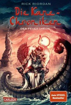 Der Feuerthron / Kane-Chroniken Bd.2