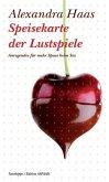Speisekarte der Lustspiele (eBook, ePUB)