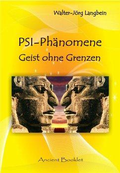 PSI-Phänomene (eBook, ePUB) - Langbein, Walter-Jörg