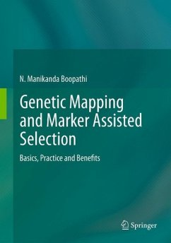Genetic Mapping and Marker Assisted Selection (eBook, PDF) - Boopathi, N Manikanda