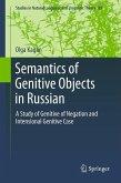 Semantics of Genitive Objects in Russian (eBook, PDF)