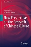 New Perspectives on the Research of Chinese Culture (eBook, PDF)
