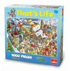 """Goliath 71312006 - That's Life Wimmel Puzzle """"Freizeitpark"""", 1000 Teile"""