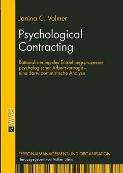 Psychological Contracting - Volmer, Janina