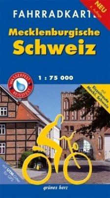 Fahrradkarte Mecklenburgische Schweiz