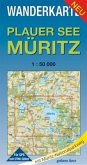 Plauer See - Müritz Wanderkarte 1 : 50 000