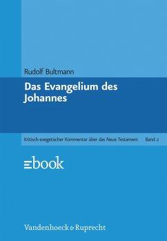 Das Evangelium des Johannes (eBook, PDF) - Bultmann, Rudolf
