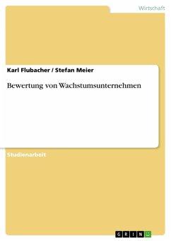 Bewertung von Wachstumsunternehmen (eBook, PDF)