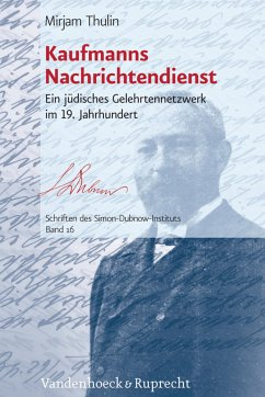 Kaufmanns Nachrichtendienst (eBook, PDF) - Thulin, Mirjam