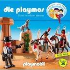 Streit im Wilden Westen / Die Playmos Bd.35 (1 Audio-CD)