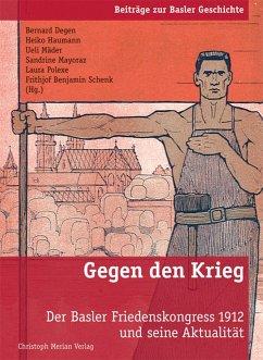 Gegen den Krieg (eBook, ePUB)