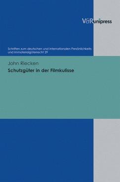 Schutzgüter in der Filmkulisse (eBook, PDF) - Riecken, John