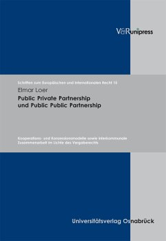 Public Private Partnership und Public Public Partnership (eBook, PDF) - Loer, Elmar