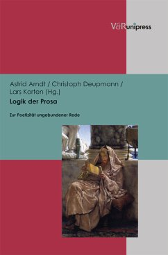 Logik der Prosa (eBook, PDF)