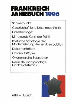 Frankreich-Jahrbuch 1996 - Albertin, Lothar; Asholt, Wolfgang; Bock, Hans Manfred; Christadler, Marieluise; Schild, Joachim; Kimmel, Adolf; Picht, Robert; Uterwedde, Henrik; Kolboom, Ingo