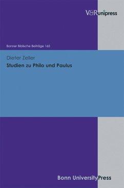 Studien zu Philo und Paulus (eBook, PDF) - Zeller, Dieter