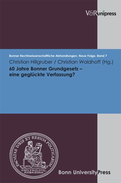 60 Jahre Bonner Grundgesetz - eine geglückte Verfassung? (eBook, PDF)