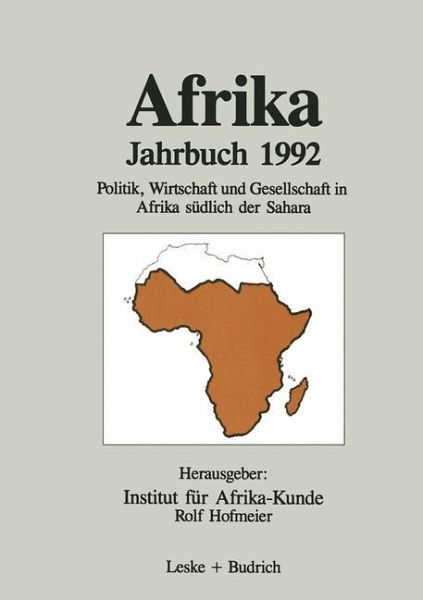 Afrika Jahrbuch 1992