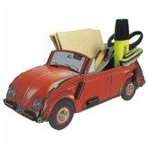 Zettelbox VW Käfer rot