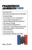 Frankreich-Jahrbuch 1999