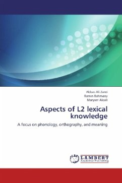 Aspects of L2 lexical knowledge