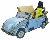 Zettelbox VW Käfer hellblau