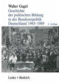 Geschichte der politischen Bildung in der Bundesrepublik Deutschland 1945-1989
