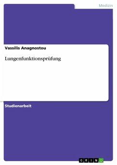 Lungenfunktionsprüfung (eBook, PDF)