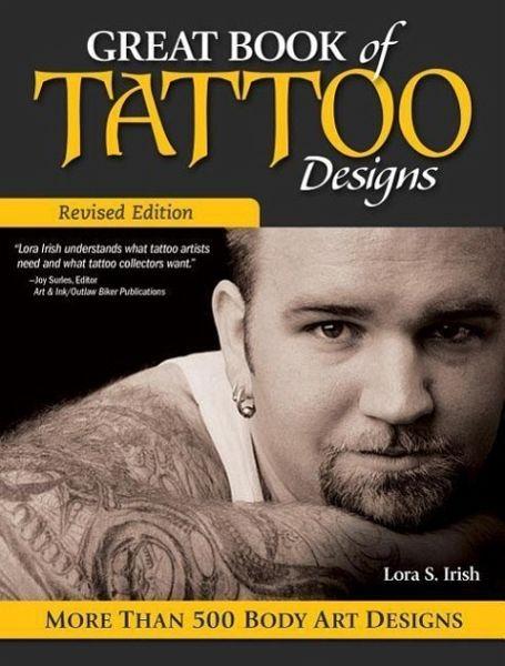 great book of tattoo designs von lora s irish englisches buch. Black Bedroom Furniture Sets. Home Design Ideas