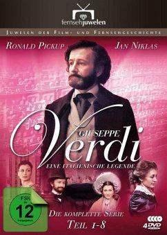 Giuseppe Verdi - Eine italienische Legende - Teil 1-8 DVD-Box