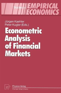 Econometric Analysis of Financial Markets