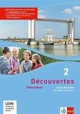 Découvertes Série bleue 2. Cahier d'activités mit MP3-CD und Video-DVD