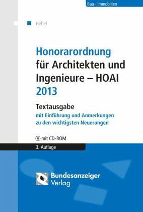 Architekt Hoai honorarordnung für architekten und ingenieure hoai johann