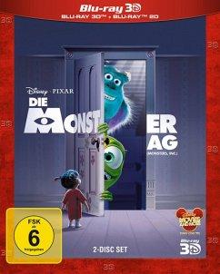 Die Monster AG, 3D Superset, 2 Blu-rays
