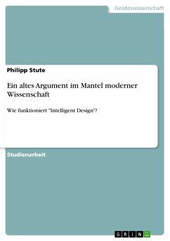 Ein altes Argument im Mantel moderner Wissenschaft (eBook, PDF)