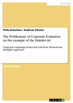 The Problematic of Corporate Evaluation on the example of the Daimler AG