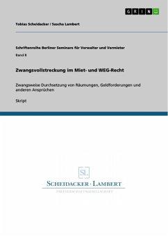 Zwangsvollstreckung im Miet- und WEG-Recht (eBook, PDF)