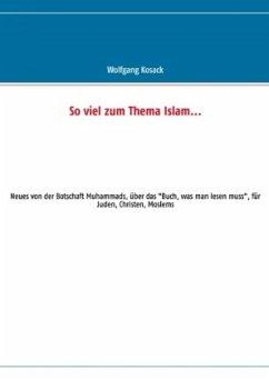 So viel zum Thema Islam