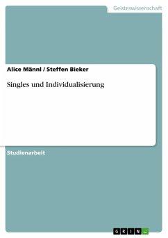 Singles und Individualisierung (eBook, ePUB)