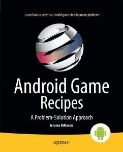 Android Game Recipes - DiMarzio, Jerome F.