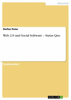 Web 2.0 und Social Software – Status Quo (eBook, PDF)