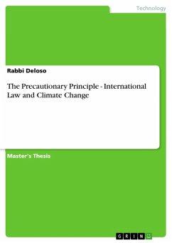 The Precautionary Principle - International Law and Climate Change (eBook, PDF)