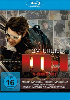 Mission: Impossible I-IV (4 Discs) - Beart,Emmanuelle/Cruise,Tom/Newton,Thandie