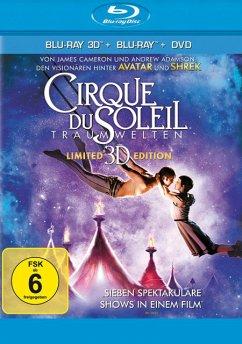 Vorschaubild von Cirque du Soleil: Traumwelten (Blu-ray 3D, + Blu-ray 2D, + DVD)