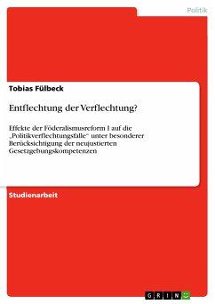 Entflechtung der Verflechtung? (eBook, PDF)