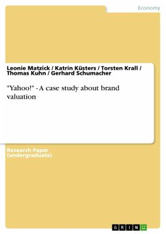"""Yahoo!"" - A case study about brand valuation (eBook, PDF)"