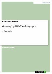 Growing Up With Two Languages (eBook, ePUB)