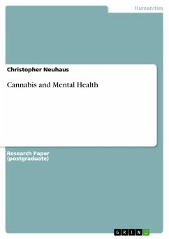 Cannabis and Mental Health (eBook, PDF)